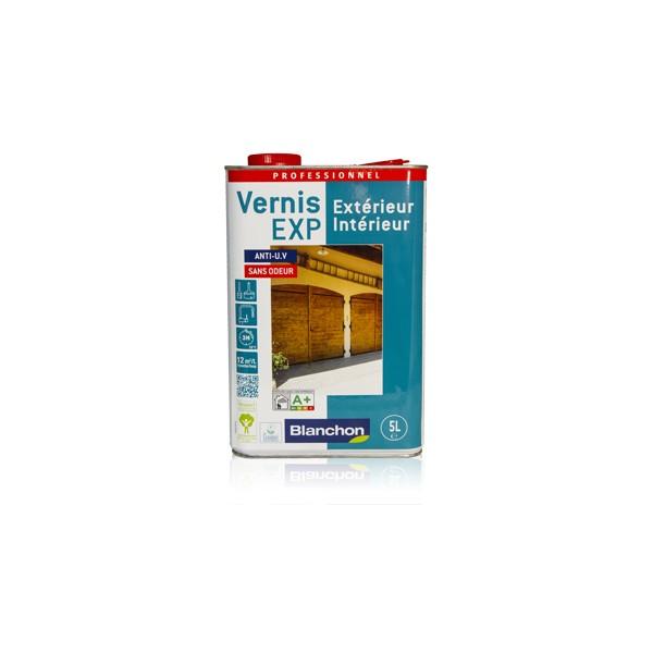 Blanchon vernis bois exp interieur exterieur satine incolore 2 5l - Vernis bois incolore ...