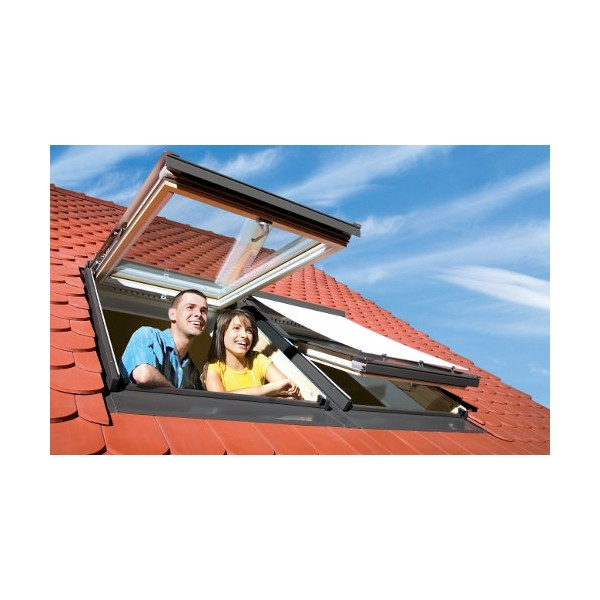 fakhro fenetre de toit rotation en aluminium et. Black Bedroom Furniture Sets. Home Design Ideas