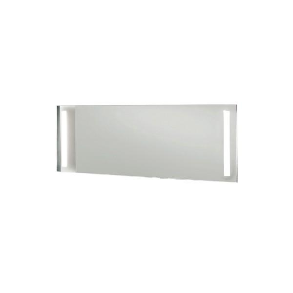 Decotec miroir ecl 2 bande de led l75 major for Miroir 5 bandes