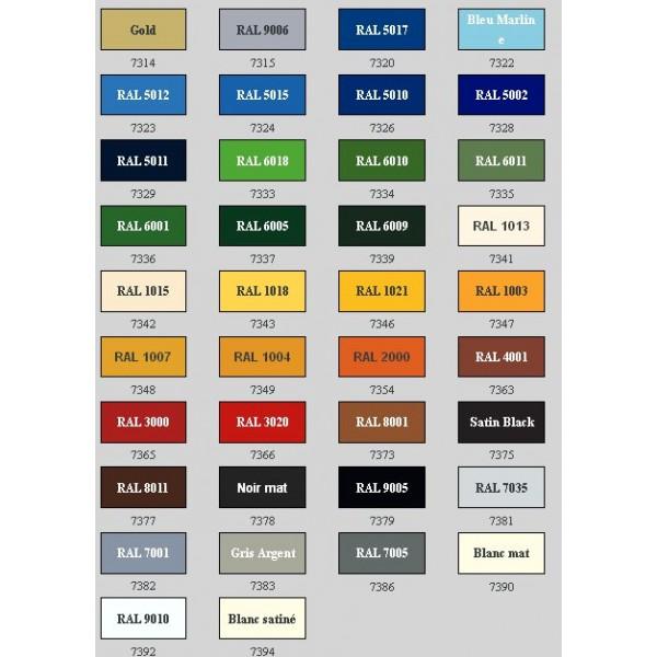 Peinture Pour M 233 Tal Combi Color Ral 1007 Pot De 0 75 L