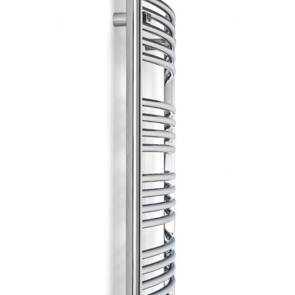 S che serviette hydraulique 900 watts round 22 chrom - Seche serviette hydraulique ...