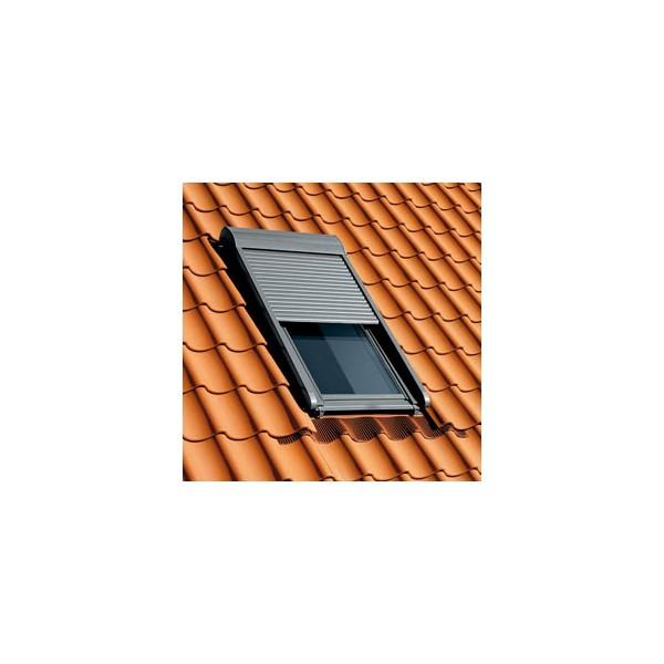 volet roulant electrique velux 114x118 fentre de toit. Black Bedroom Furniture Sets. Home Design Ideas