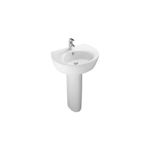 Lavabo Ove 65x52cm Blanc Jacob Delafon E1565 00