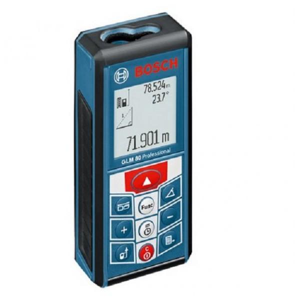 Telemetre laser glm 80 bosch 601072300 for Metre laser castorama lille