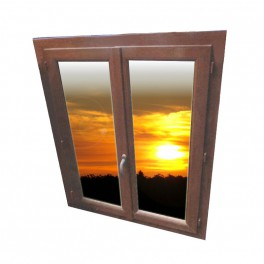 Fenêtre Marronfenetre Couleur Chênefenêtre Pvc Déstockéefenêtre