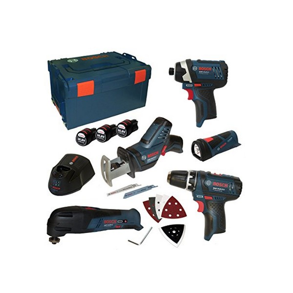 Kit 5 outils sans Fil Bosch