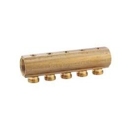 R585- 9 - COLLECTEUR 3-4X12 AVEC robinet - GIACOMINI