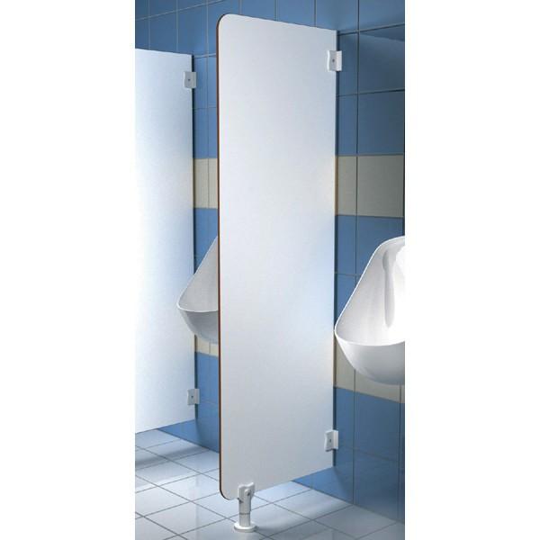 ecran d 39 urinoir stratifi compact 150x50cm sanitec 160210. Black Bedroom Furniture Sets. Home Design Ideas
