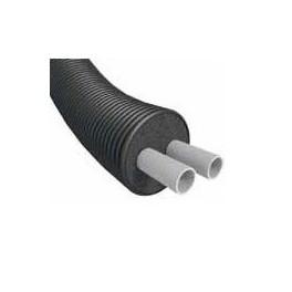TUBE PRE-ISOLE DOUBLE LIGNE TYPE F600 32X40/160