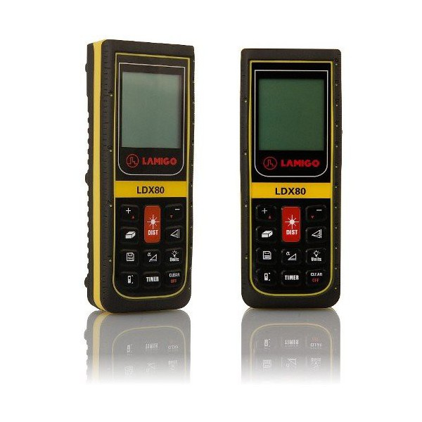 Lasermetre ldx80 lamigo for Metre laser castorama lille