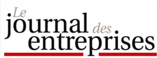Logo journal des entreprises